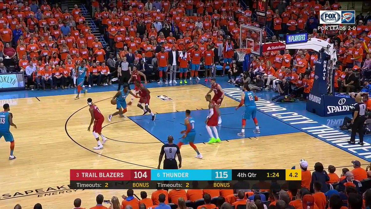 #WHYNOT ???  #ThunderUp | #NBAPlayoffs