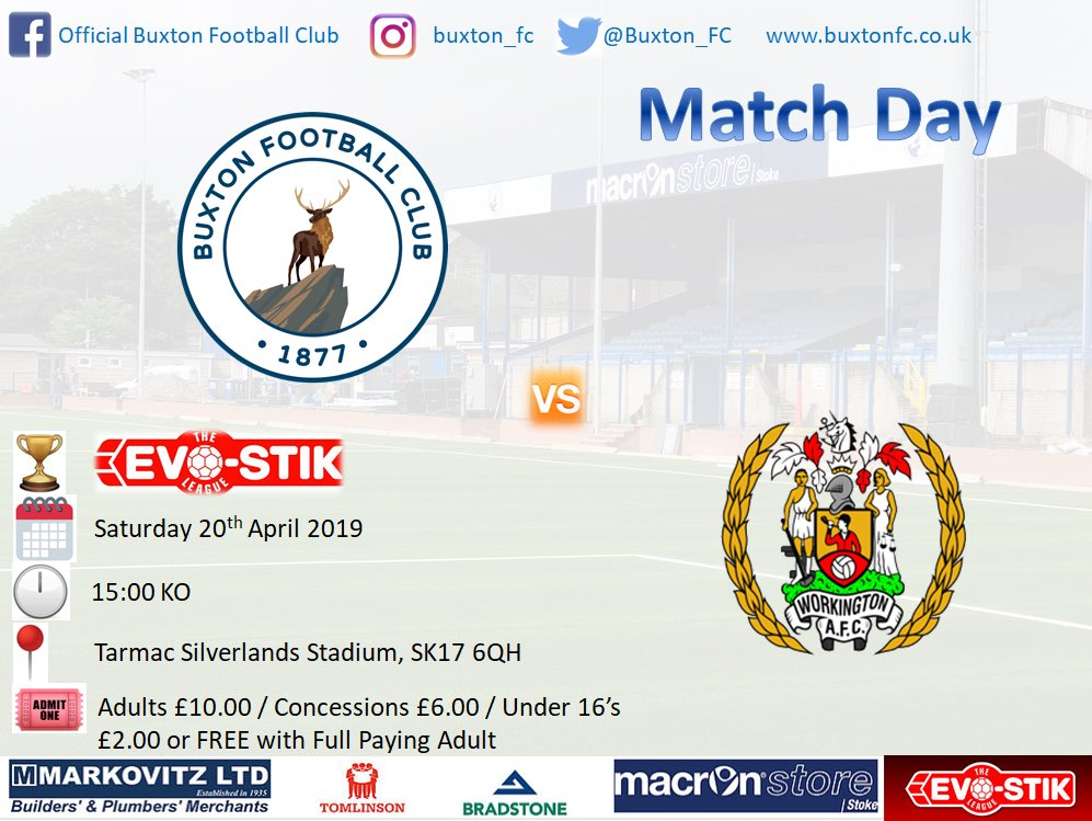 Match day: Weather set ✅ football set ✅ - Huge game for the Bucks as they look to get back into playoffs! Where else would you want to be? 🤷🏻‍♂️ #UpTheBucks #PlayOffPush #EvoStikLeague