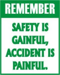 Always remember safety causes no pain and accidents cause pain #EasterWithStega