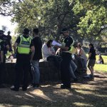 Be careful out there police targeting peaceful people picnicking in Flagstaff Gardens #420