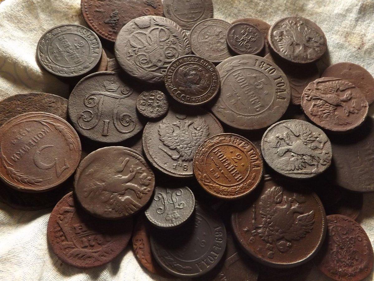 Картинки медных монет