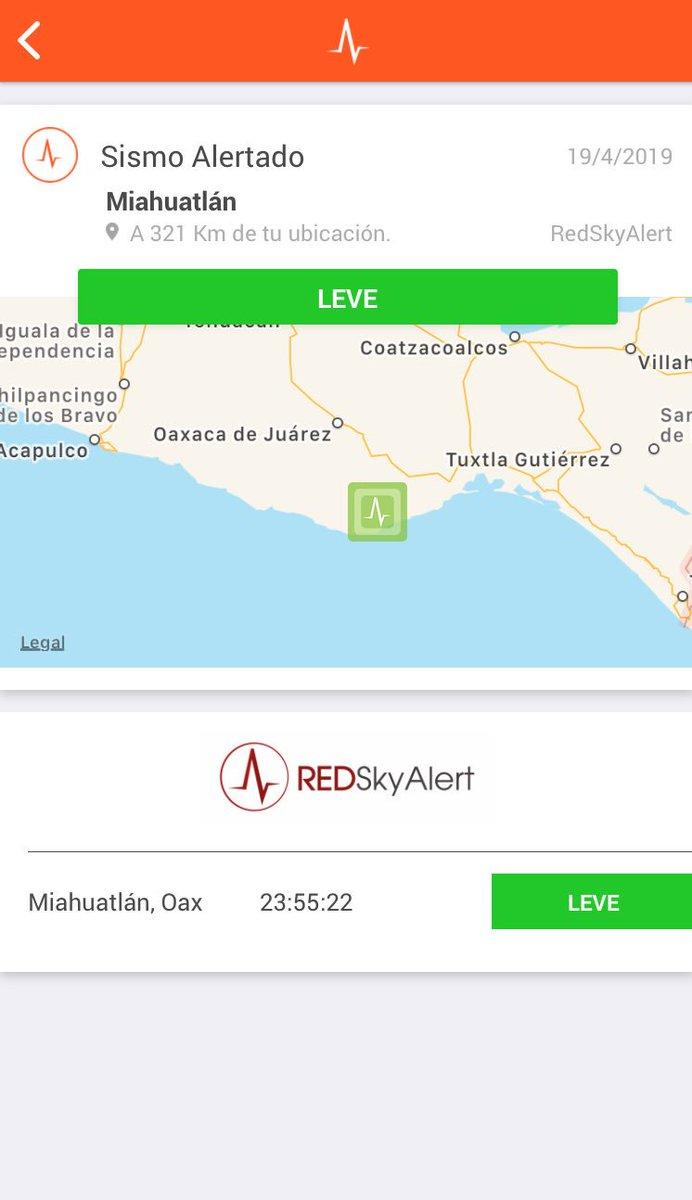 #Ahora - se registró sismo de intensidad «leve» en la zona de Miahuatlán, Oaxaca.