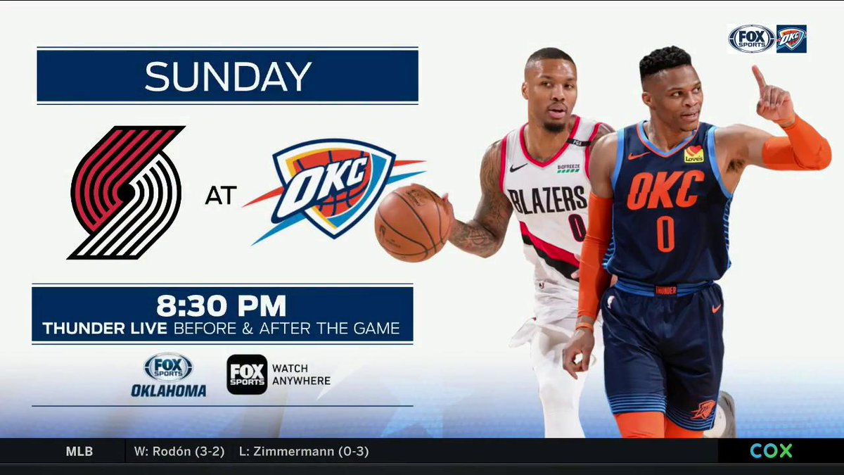 The battle continues on Sunday!  @Exhoopsmc and Chris Fisher preview Game 4.  #ThunderUp | #NBAPlayoffs