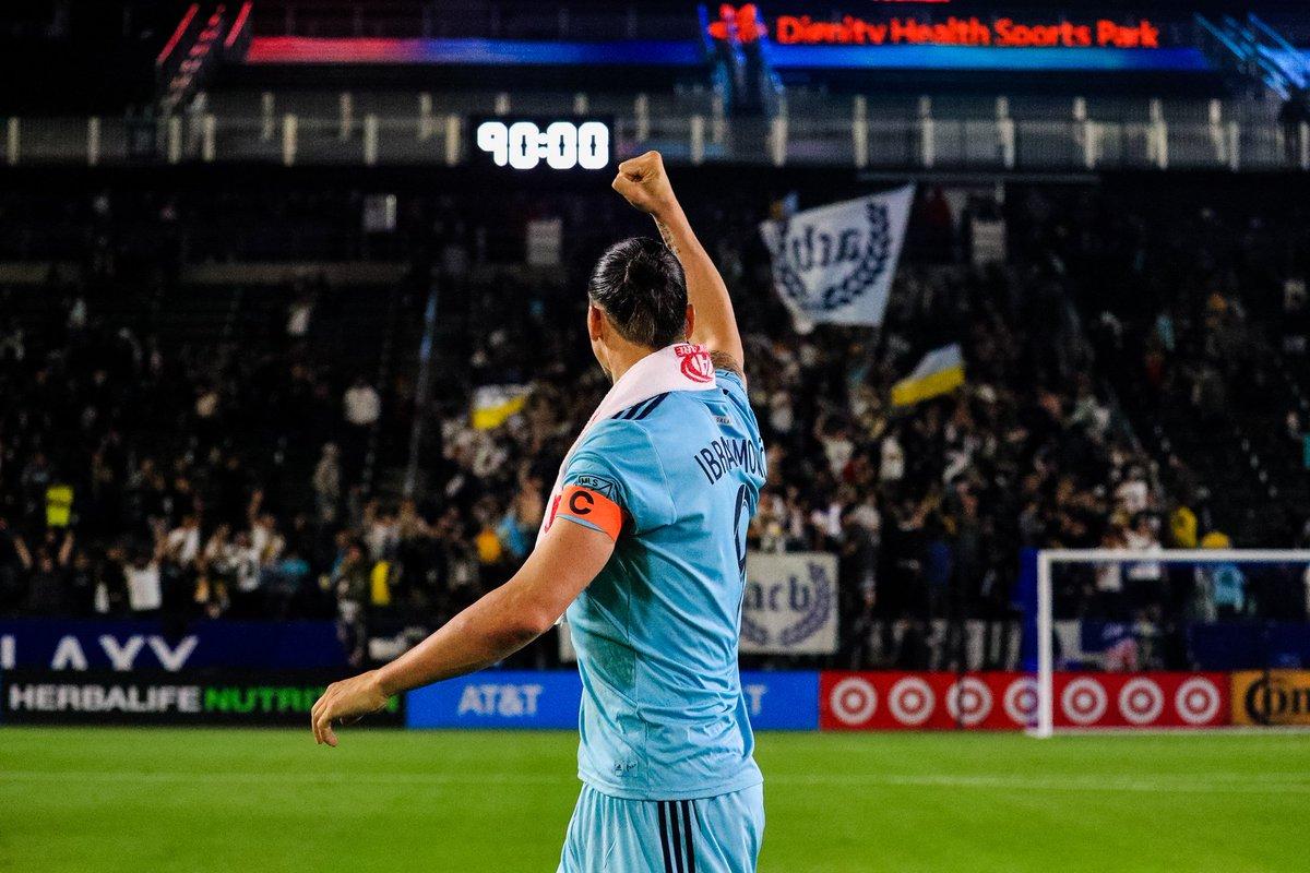 Ibrahimovic encore décisif avec le LA Galaxy