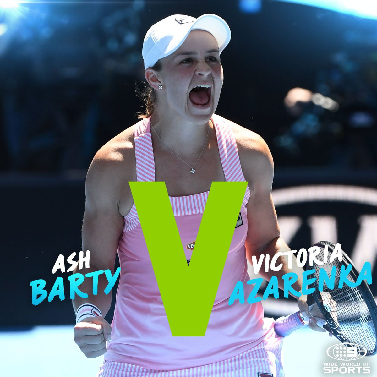 Let the #BartyParty begin!  Watch Australia take on Belarus in the #FedCup LIVE on @9Gem  #9WWOS #Tennis #AUSBLR