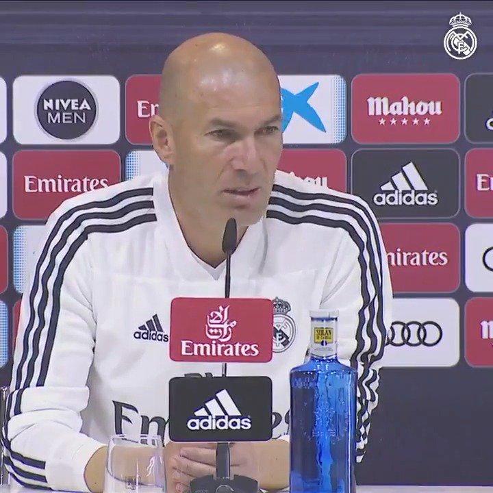 🎙💬 Zidane analizó en rueda de prensa a nuestro rival de mañana en #RMLiga. #RMCity