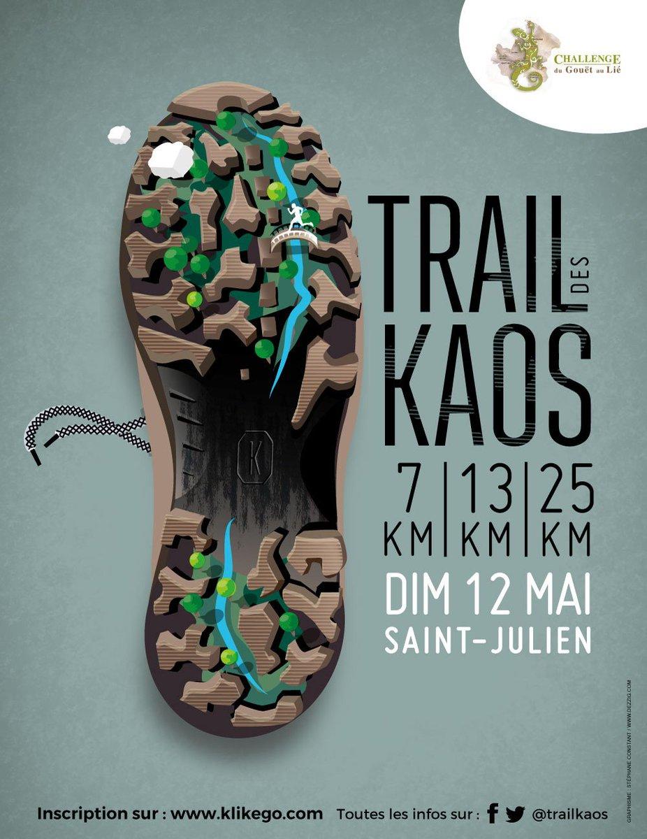 Vous êtes partant le 12 mai pour un beau Trail de 7, 13 ou 25 km en  plein cœur du site classé des Chaos du Gouët à Saint-Juliien (22) ? Ses  sentiers escarpés longeant la rivière du Gouët et ses amas de roches  granitiques ! Alors inscrivez-vous ici : https://t.co/uvM6opqeDK …