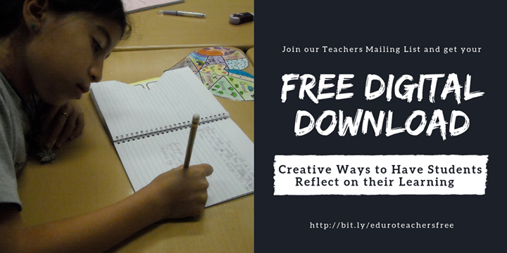 Are you looking to expand your toolbox? Add strategies for student reflection + receive our monthly teacher newsletter!  http://bit.ly/eduroteachersfree…  #EduroLearning #COETAIL #edchat #edtech #profdev #asiaed #africaed #aussieed #edchatie #edchateu #globaled