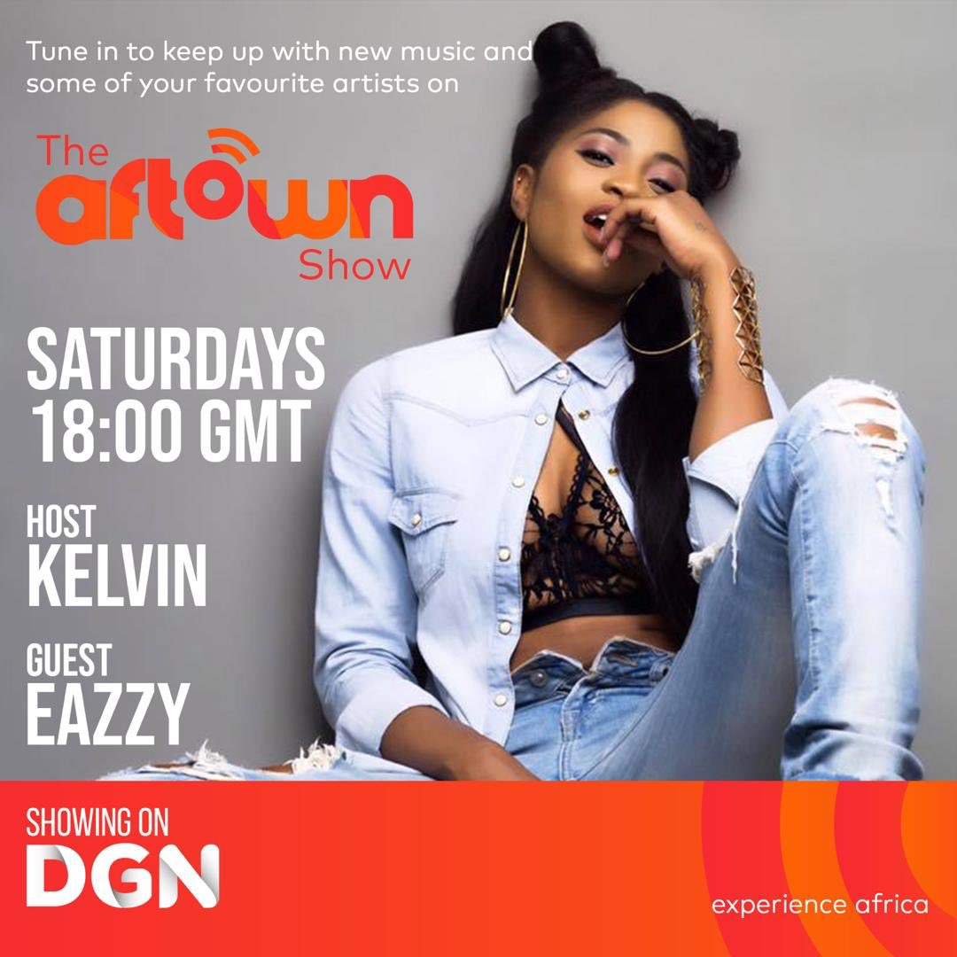 @Eazzyfirstlady sheds light on her new #SoloEP and more on the #aftownShow Tune in later today at 6PM on #DGN ( @DGNOnline )  #aftownmusic