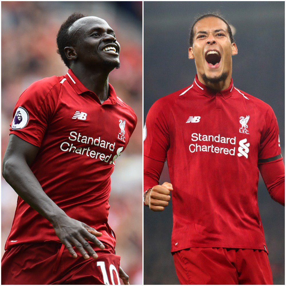 Sadio Mane and @VirgilvDijk have been shortlisted for the @PFA Players' Player of the Year award. 💫🙌#PFAawards