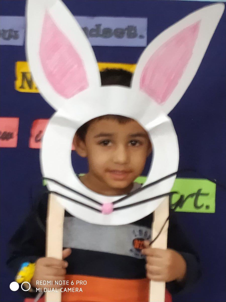 The Easter bunny is hopping.. no, he's hoping,U hv a #wonderful #Easter Tiny-tots having fun on Easter celebrations #ipscam #cambridgelearners #IndirapuramsSchools #PreK #Kindergarten #EasterTreats  @CambridgeInt @cambridgeindia @RitaSingh0210 @akmittals @Anupam_Sharmaa