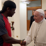 "Image for the Tweet beginning: Francis tells Gay Atheist: ""It"