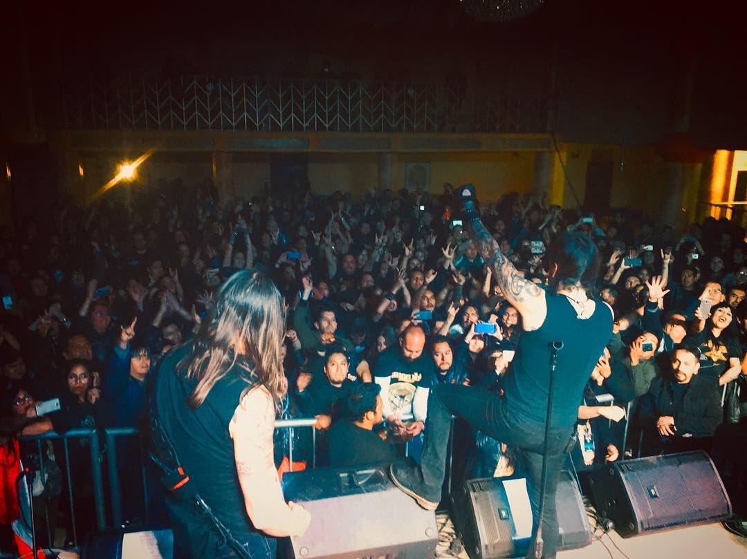 🇧🇴 Thank you La Paz! Brilliant first show in Bolivia - next up Cochabamba🤘#amorphis #queenoftimetour #queenoftimetour2019 #dynamoprod https://t.co/6OSCYAoo32