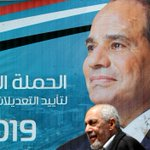 Image for the Tweet beginning: Egyptians to vote on changes