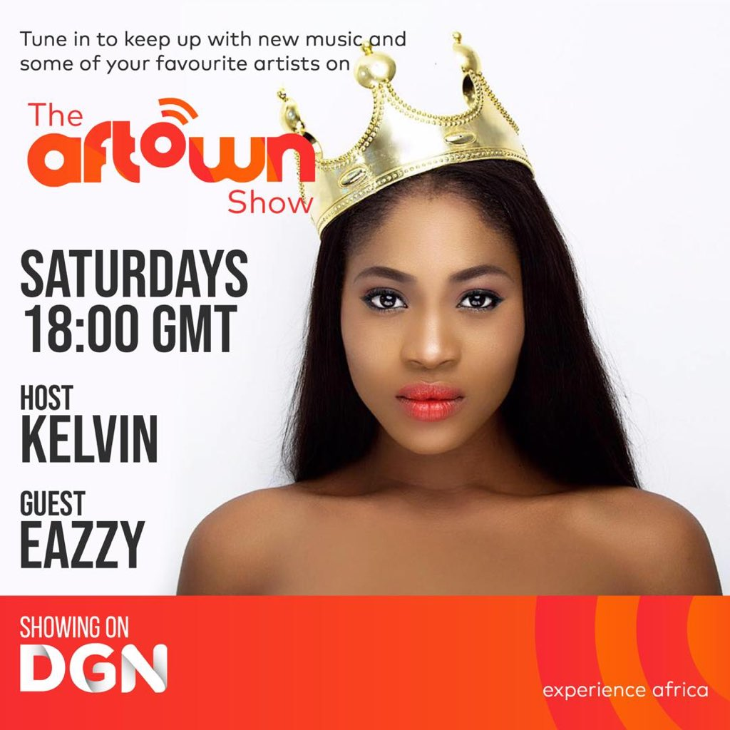 #4/20....The Aftown Show will be hosting @Eazzyfirstlady👑👑#6pm GMT on #DGN🇬🇭🇬🇭don't miss out...#Odo #SoloEp @Africori @aftownmusic