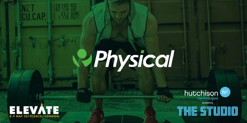 Image for Hutchison Technologies are happy to announce that @PhysicalCompany will be joining us at @elevatearena in our Studio. Sign up to meet the team at #Elevate19 on the 8th & 9th May 2019 https://t.co/HO7bbNncXL #Elevate #ShredSaturday #healthandfitness #c