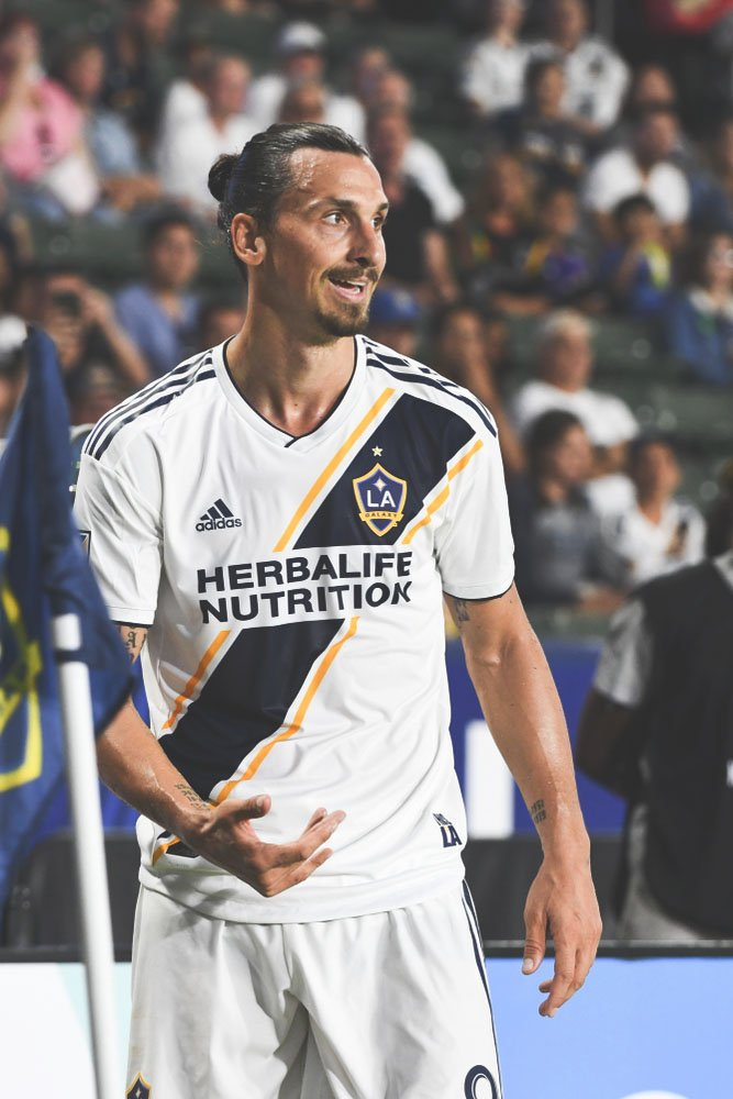 """Maybe the MLS will punish me, but I am the MLS, so don't worry about it."" - Zlatan Ibrahimovic after he criticised the VAR decision on Houston's goal against LA Galaxy"