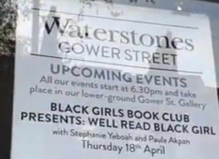 f504853b17e910 ... Girls Book Club presents event in celebration of  wellreadblkgirl An  even bigger thank you to  guidetoglo for creating such an amazing movement  that ...