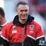 Image for the Tweet beginning: Saints coach Alan Richardson will