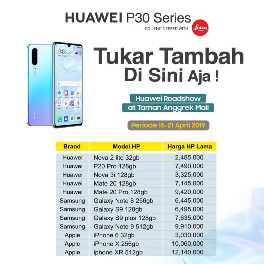 Herry Sw On Twitter 32 Nah Ini Materi Promo Pameran Huawei P30 Pro Di Pakuwon Mall Surabaya Hsw30