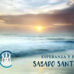 Image for the Tweet beginning: SÁBADO SANTO: Día de luz
