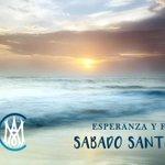 Image for the Tweet beginning: SÁBADO SANTO: Día de luz
