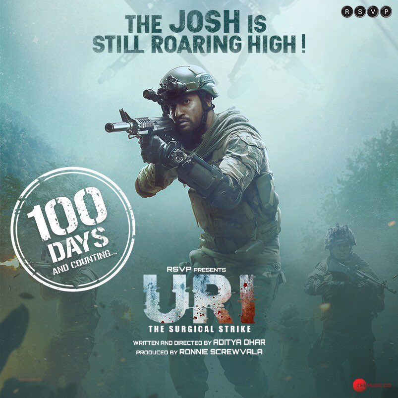 Thank you world for conspiring so beautifully to make URI happen!! ❤️ 100 days of #URItheSurgicalStrike 🙏
