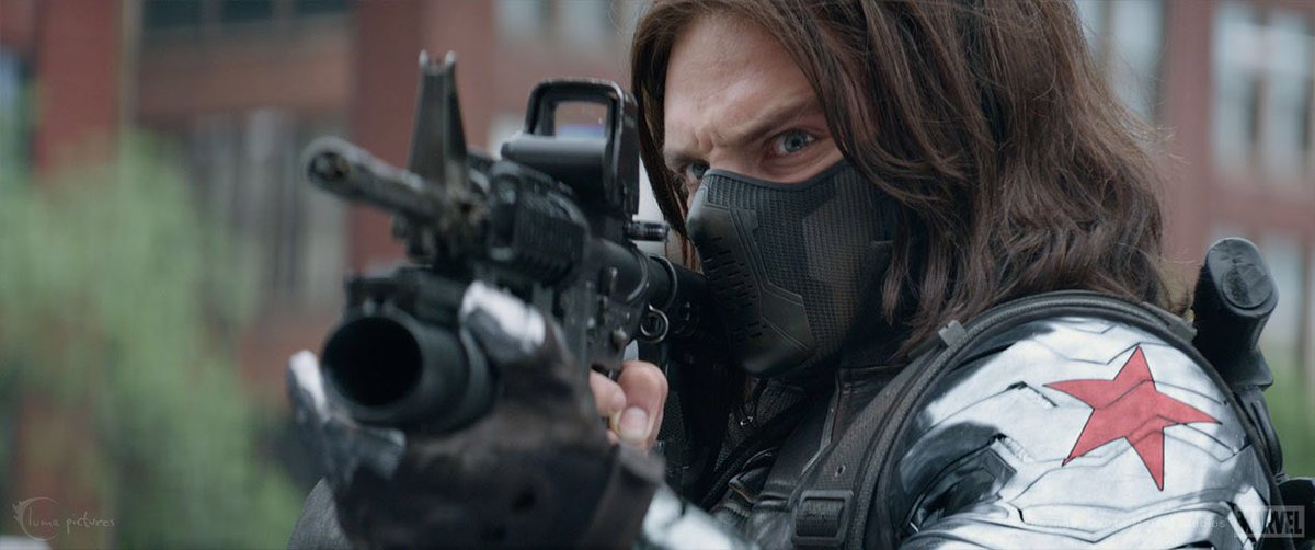 #9of22 #CaptainAmerica #TheWinterSoldier Now showing in my house, just for me! #MCUMarathon #Marvel