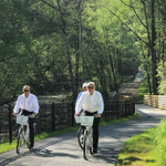 Nothing is sweeter than a morning ride along the Chattahoochee River on the Zagster bikes in Cumberland. Take one for a spin today!  #atlantassweetspot #exploregeorgia