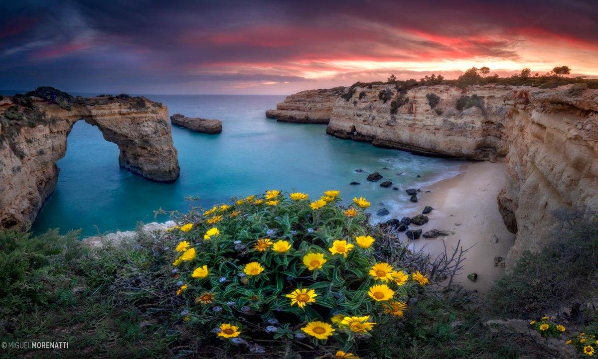 El paraíso está más cerca de lo que pensamos... El Algarve, Portugal.  -Imagen panorámica compuesta por 9 fotos verticales de 2 segundos de exposición cada una.    ©MiguelMorenatti -Nueva foto disponible en mi web.
