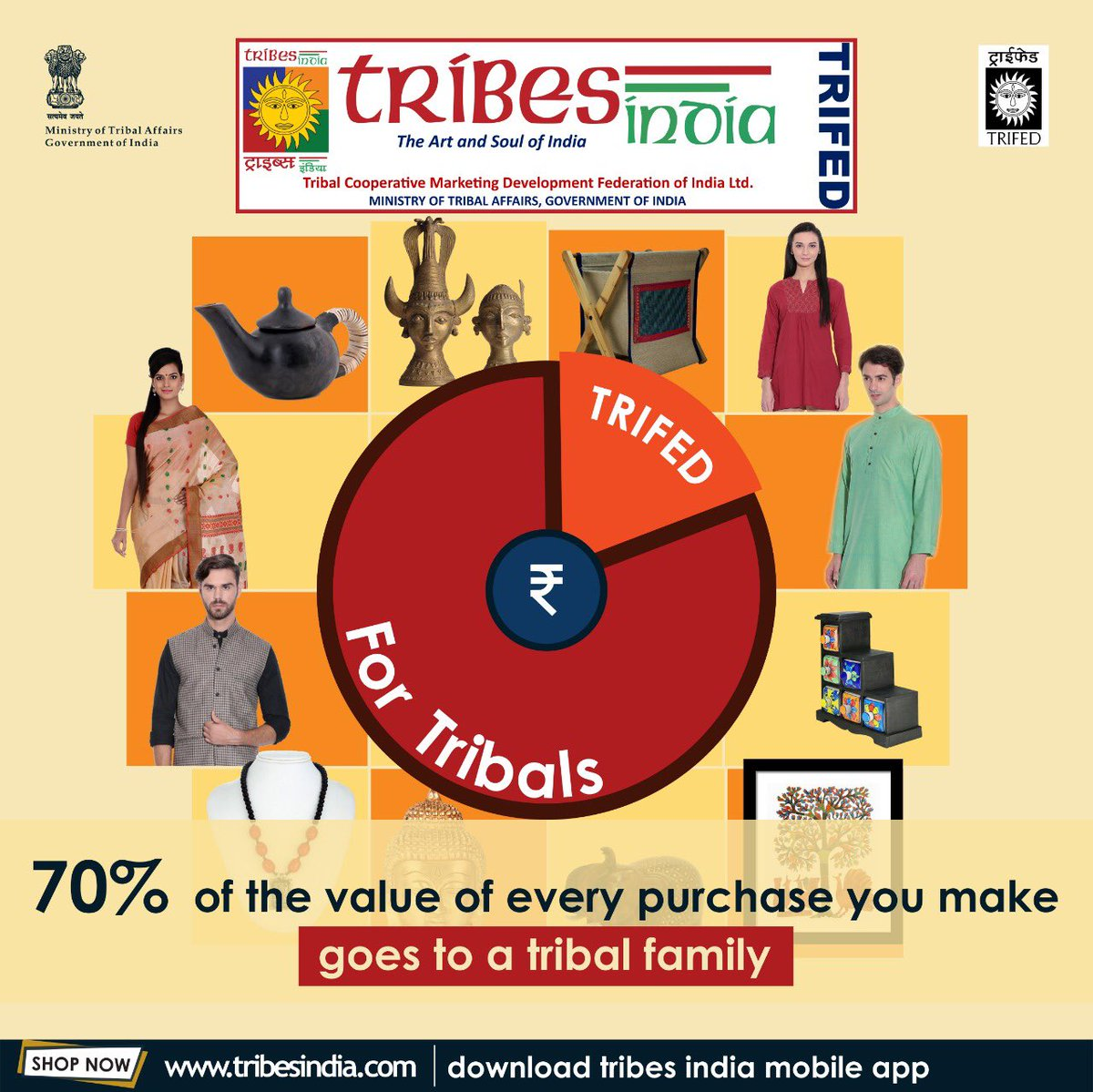 tribesindia hashtag on Twitter