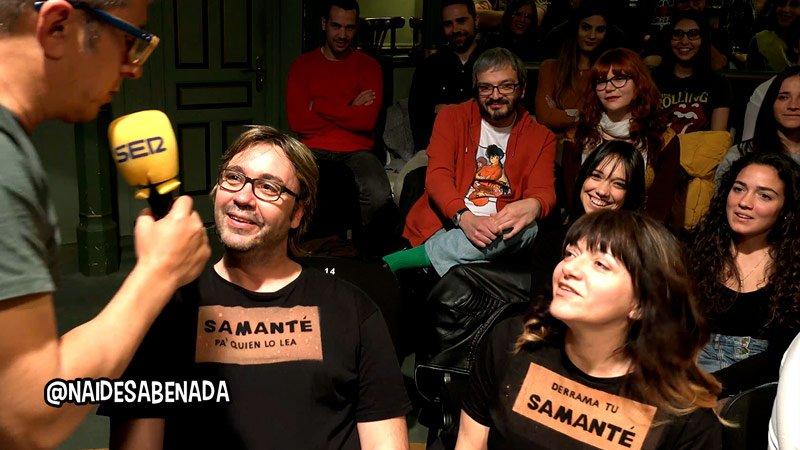 Camisetas Samanté, se nos está yendo de las manos... :)_ | #NadieSabeNada