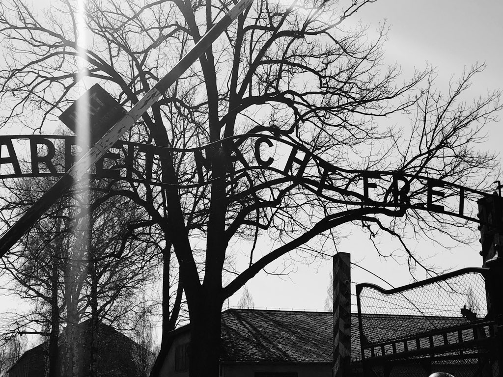 A thought provoking, sobering day in #Auschwitz.  A stark warning that antisemitic, hateful ideologies led to this human catastrophe with unknown loss of lives. Everyone should visit, maybe the world would be a kinder place.