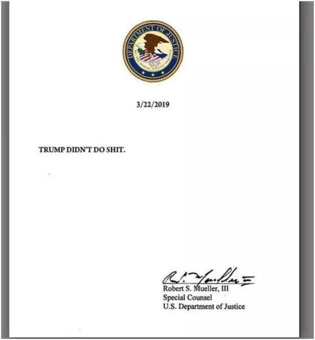 #296 T @orarnp O @wilsondk5 M @Rswalker78 B @Sequencer16 S @LucyKnows1 T @ideasmc O @BruceChambers N @arkiegal411 E @linnyt7 @roderunner01 © @Tombstone1954 @Len9671 S @luvnewinfo A @tagruber L @shaunjo63544674 O @hunter3638 O @Cdeeman123 N @Aug1405 The Complete Mueller Report 👇