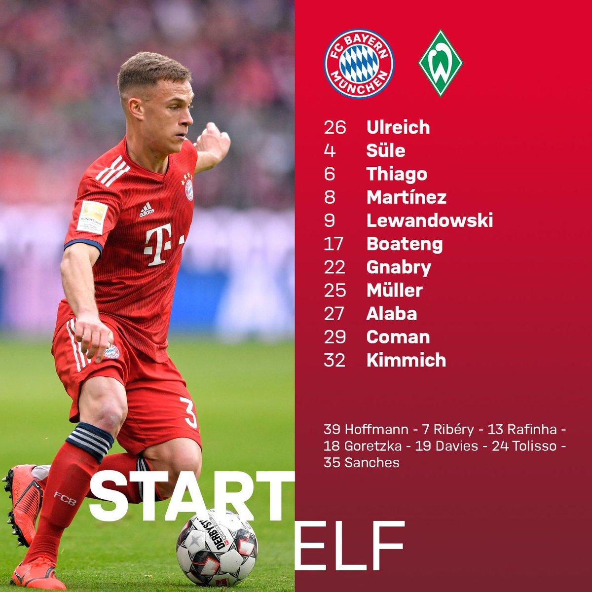 FC Bayern München's photo on aufstellung