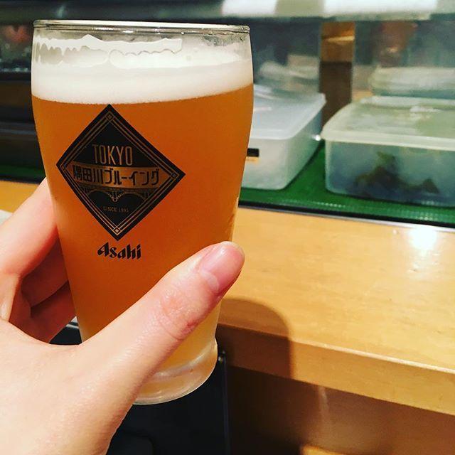 test ツイッターメディア - 一人でお寿司屋さんブーム  #お寿司 #寿司 #隅田川ブルーイング #地ビール #beer https://t.co/VYwKG2qyf6 https://t.co/RpYYHjW4SF