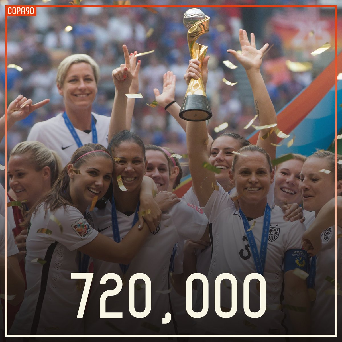 🌍🏆 Tickets for World Cup '19 are flying out 👏