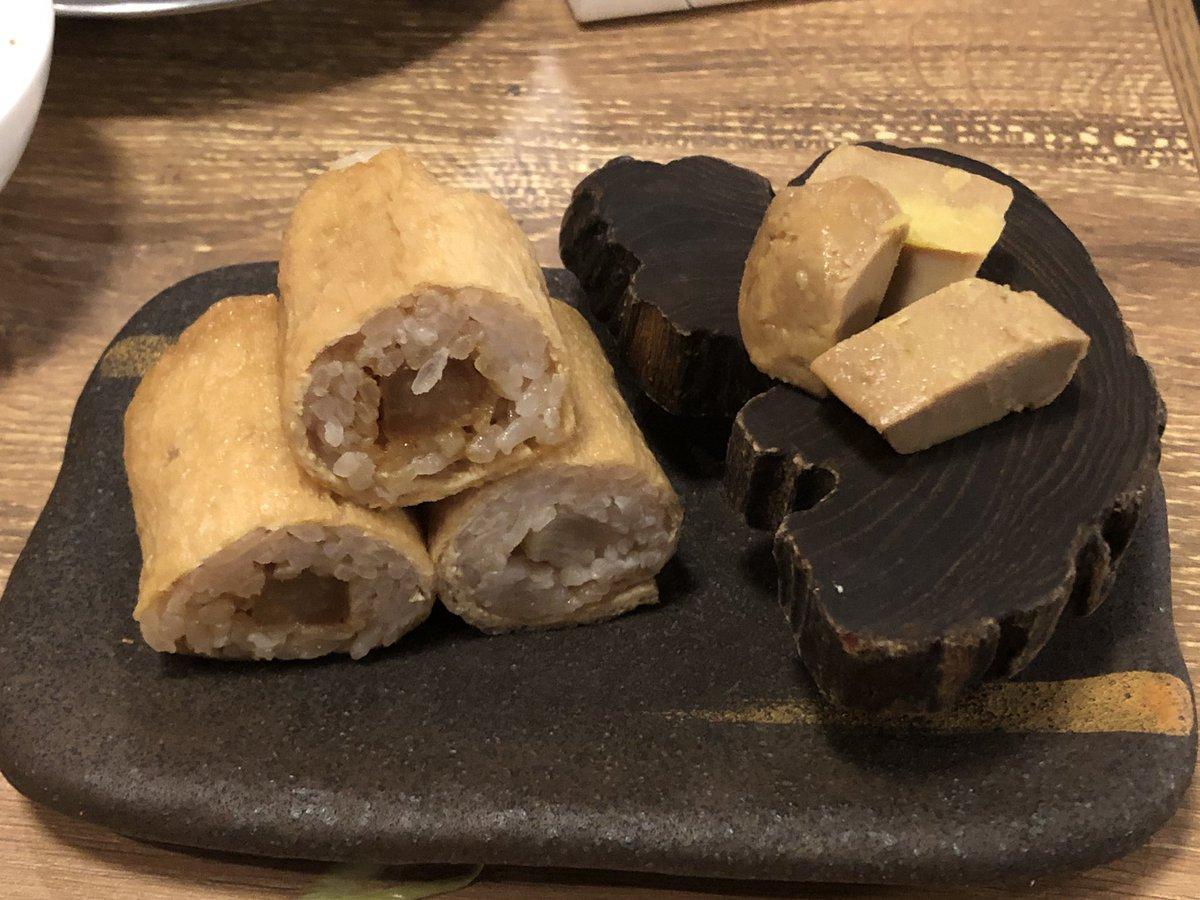 test ツイッターメディア - 今日の夕飯は福島の焼肉寿司。 久しぶりの飲み会楽しかった。 焼肉寿司美味しいよ。 追加でフォアグラ肉寿司食べたけど、これは絶品。 ごちそう様でした。  #焼肉寿司 #大阪市福島 #焼肉 #寿司 #関西グルメ https://t.co/f4PDDcnSSM