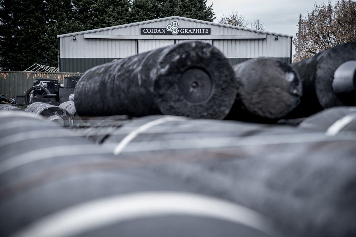 #Fact - Graphite is very thermally stable - it can be used at 3000°C in inert atmosphere, has high thermal shock resistance and increased strength at elevated temperatures. 🔥🔥🔥  #electrodes #graphite #carbon