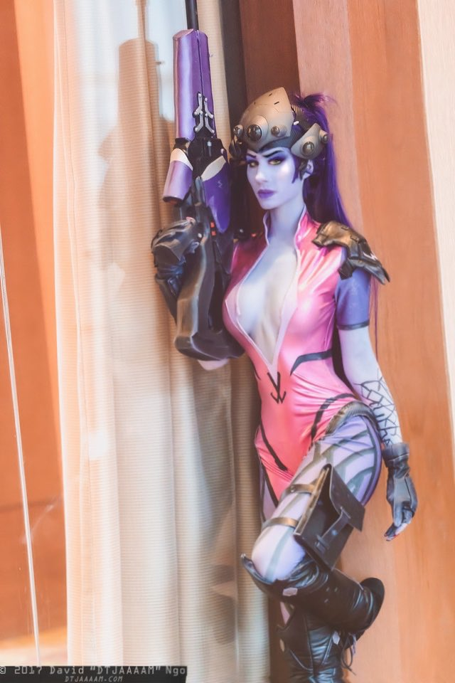 Twitter gets it first!!   I heard @hollings_chloe is coming to @SanJapan so I think that means I need to bust Widowmaker out from collecting dust. 👀   Picture taken by @DTJAAAAM at Afest 2017 🕷