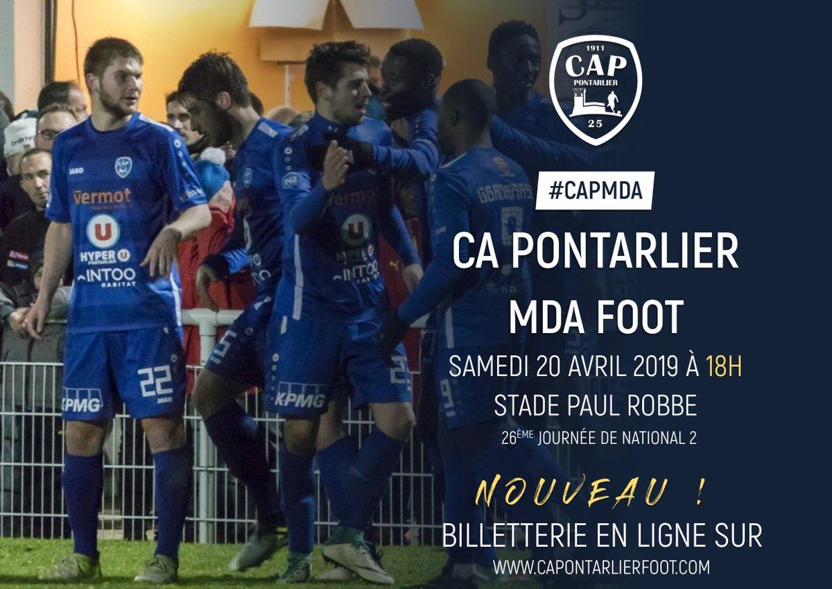 f205e1eba39  CAPMDA Le  CAPFootOfficiel reçoit  MDA Foot aujourd hui à 18h au stade  Paul Robbe ! Venez nombreux encourager les bleus et les pousser vers la ...