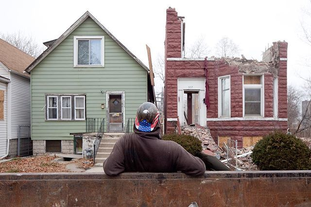 """""""The Area"""" by filmmaker #DavidSchalliol screens today at 3pm at #tubefactory .The film follows a neighborhood's 5 year battle against #displacement by a billion dollar freight company. Producer,  protagonist and resident of the #Englewood neighborhood #D… https://t.co/F7uZoc6o3S"""