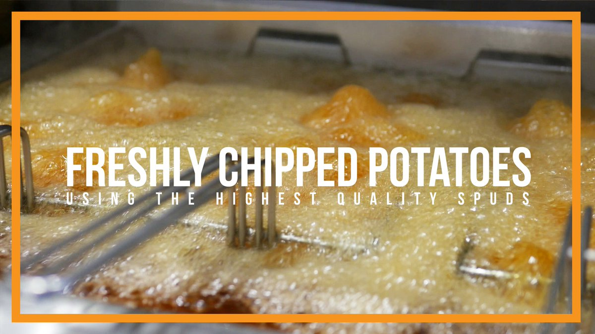 We source the finest quality spuds for our freshly chipped potatoes. Add a portion of chips to your fish for the perfect meal!  #fishandchips #freshfood #chips #potatoes #local #goodfood #foodie #food