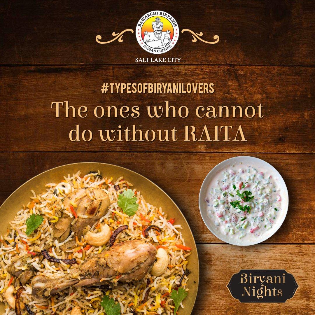 Biryani and Raita is a match made in heaven.  Tag that friend below who cannot enjoy his Biryani without raita. . . . #indianfood #indiancuisines #foodstagram #foodies #foodlove #slc #utah #instautah #wowutah #werutah #saltlakecityutah #slceats #slcfoodies #utahgram