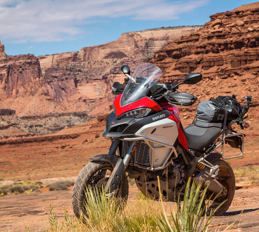 Performance. Technology. Comfort. The Multistrada Enduro is as versatile a bike as you'll ever find.   #Ducati #Multistrada #Multistrada1200Enduro #Utah  #Repost @maptacsray
