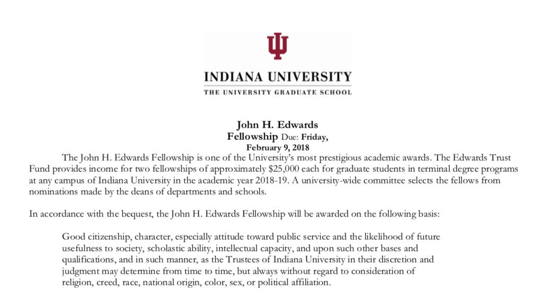 iub dissertation completion fellowship