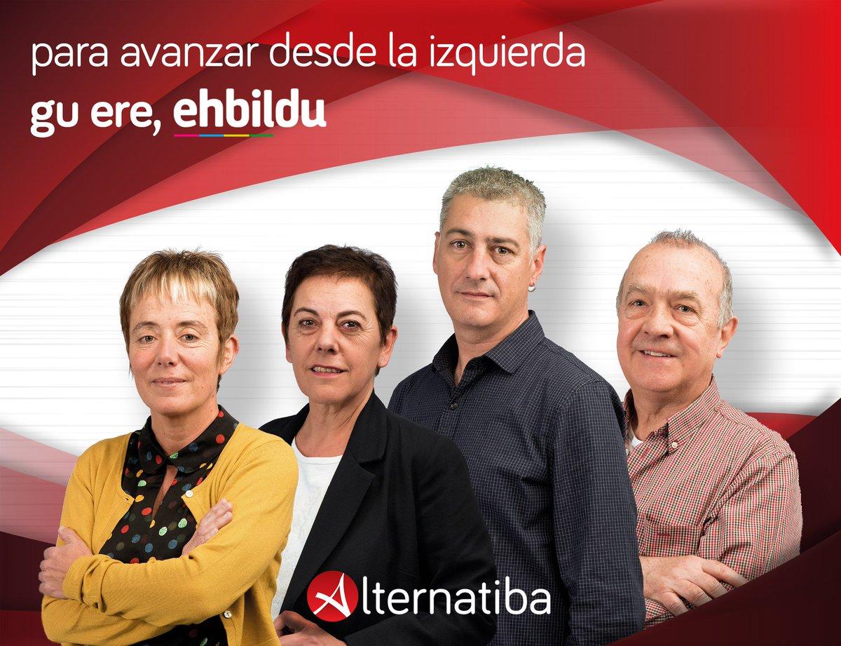 Para avanzar desde la izquierda. Gu ere, @ehbildu. #Erabaki #ParaAvanzar