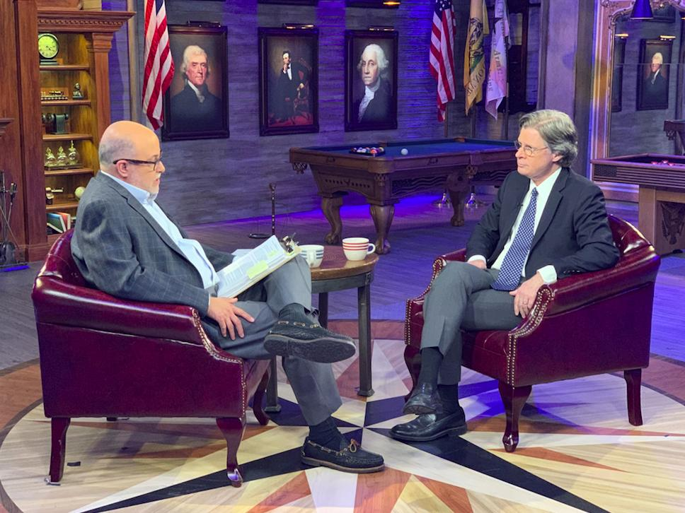 I recently traveled to an undisclosed location where I had a great talk with @marklevinshow about the Mueller report and more. Tonight at 7 on Fox.