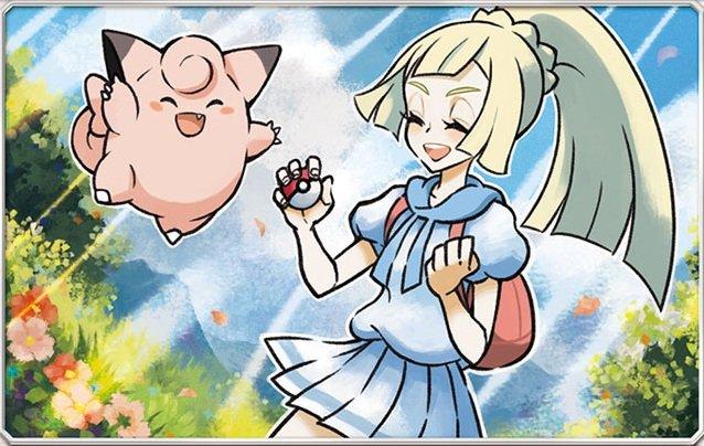 Artwork of Lillie, Gladion and Lusamine by Pokemon designer Mana Ibe (井部真那). #Pokemon #Illustration <br>http://pic.twitter.com/3sldguJesD
