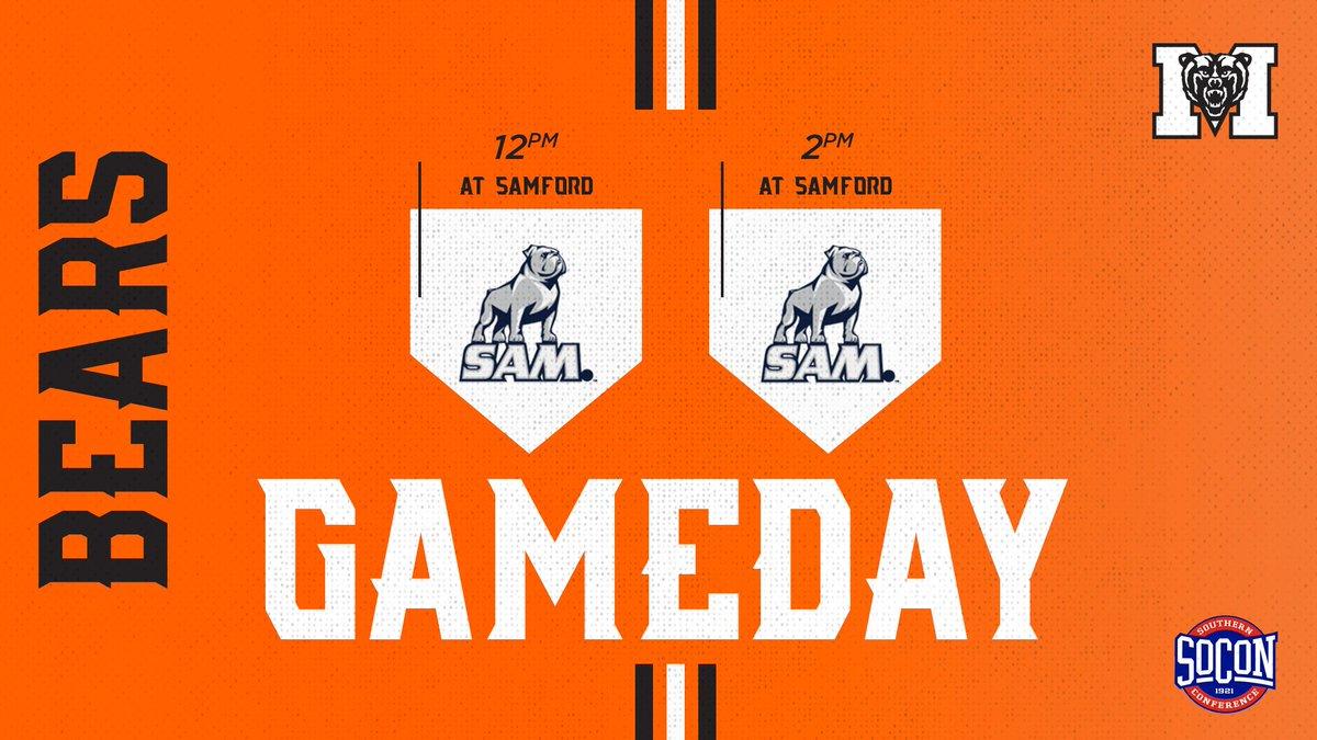 Let's do this thing!  🆚 Samford ⏰ 12 & 2 p.m. (EDT) 📍 Samford Softball Field 💻 (G1): http://es.pn/2IxxGUg 📊 (G1): http://bit.ly/2IuJEhB 💻 (G2): http://es.pn/2IwfXNe 📊 (G2): http://bit.ly/2IvLu1y   #ONE | #RoarTogether